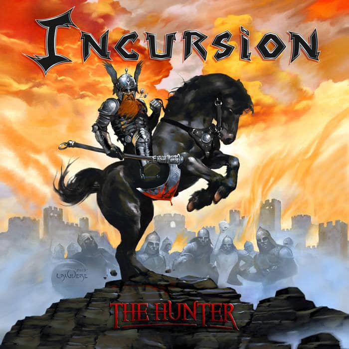 "incursion:-heavy-metal-debut-ep-""the-hunter""-jahrzehnte-nach-bandgrundung"