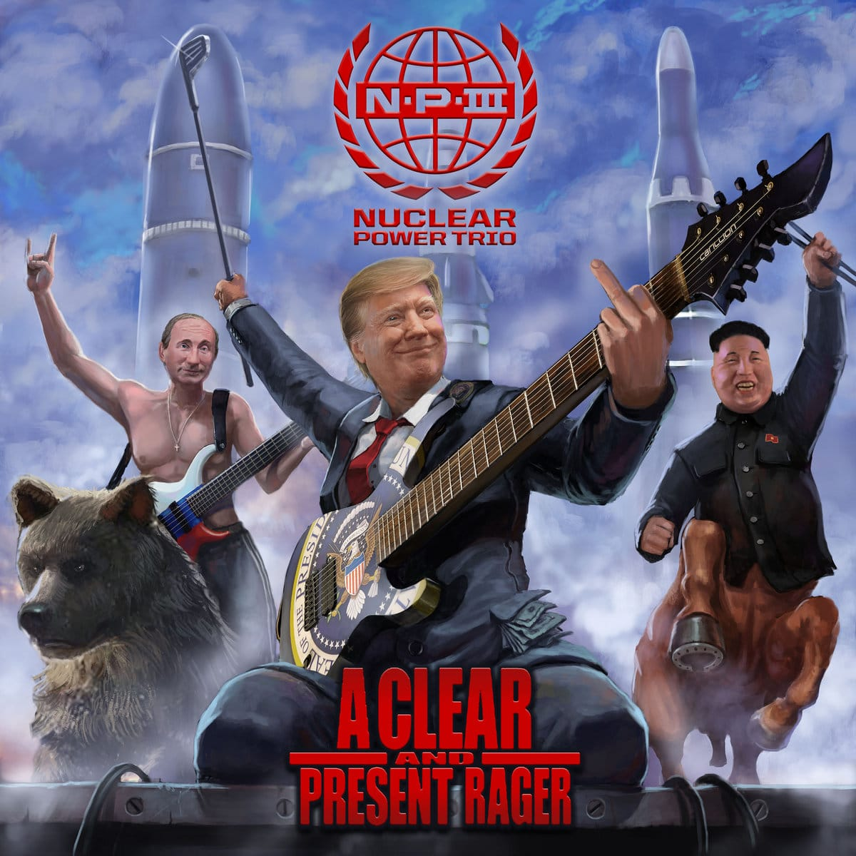 "nuclear-power-trio:-neue-ep-""a-clear-and-present-rager"""