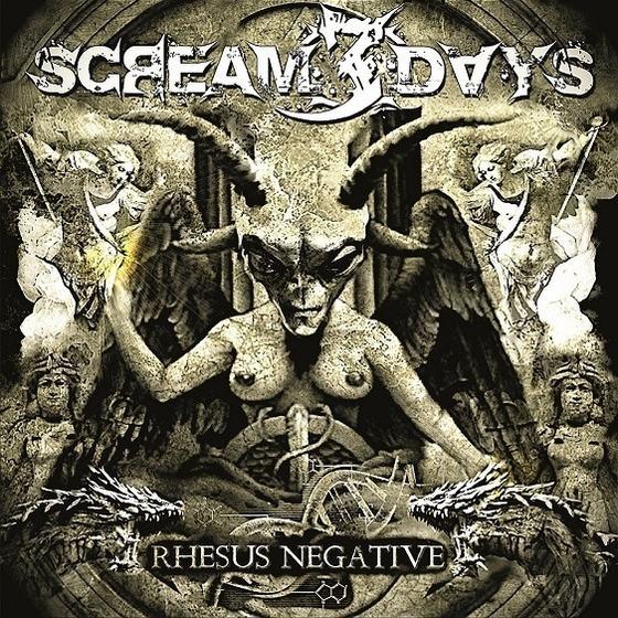 """scream3days:-lyric-video-vom-neuen-melodic-death-metal-album-""""rhesus-negative"""""""