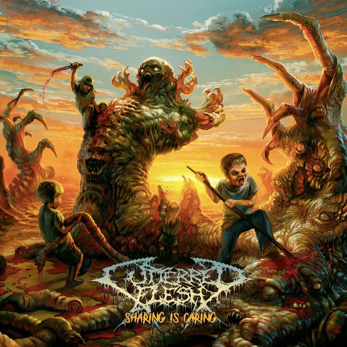 """cutterred-flesh:-neues-brutal-death-metal-album-""""sharing-is-caring""""-aus-tschechien"""